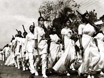 Women During Civil Disobedience in Chennai
