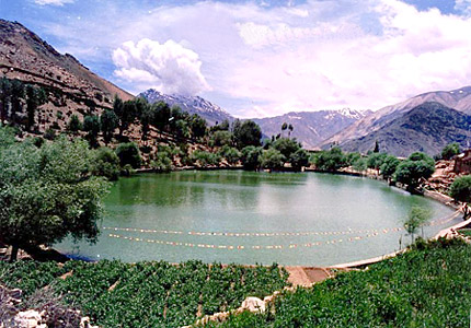 Nako Lake of India