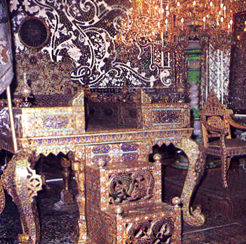 Peacock Throne, Mughal Architecture