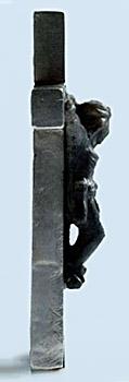 Diamond Crucifix of Jesus Christ carved by Mahendra Shah