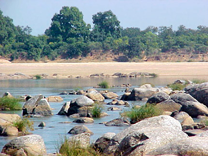 Mahanadi River at Boudh, Orissa