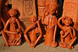 Terracotta Clay Art from Bankura