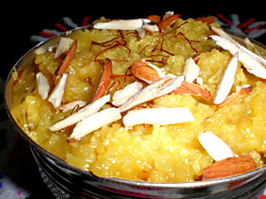 Badaam Halwa, Indian Cuisine