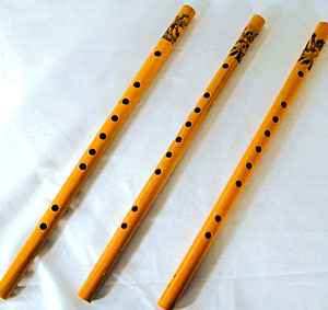 bamboo flutes, Indian Tribal  Music