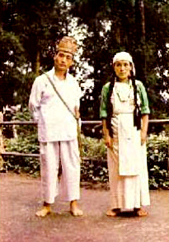 Lepchas Costumes of Sikkim