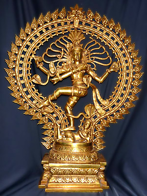 The famous figure of Shiva as Nataraj - Lord of the Dance