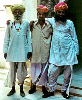 Rajasthani men Indian Costumes