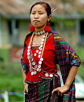 Tangsa women Costumes of Arunachal Pradesh