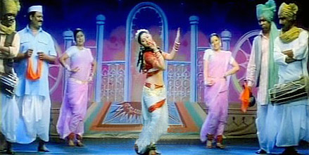 Lavani , Indian Folk Dance