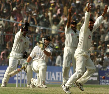India - Australia  Test Cricket Series, 2001