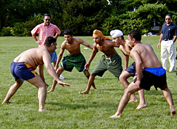 Forms of Kabaddi
