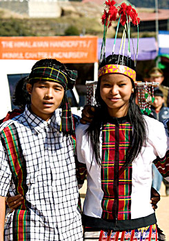 Mizo tribe of Northeast India