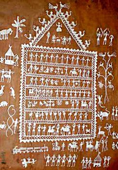 Development of Indian Tribal Art