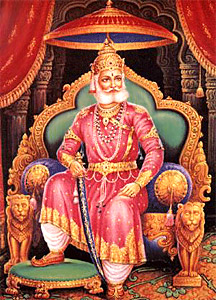 Maharaja Agrasen is known as the forefather of Aggarwal community