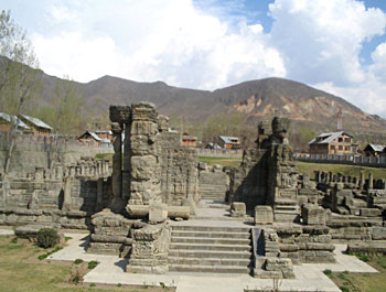 vishnu temple, Avantipur, Jammu and Kashmir