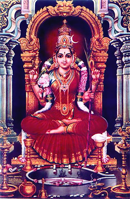 Lalita Tripura Sundari, Indian Goddess