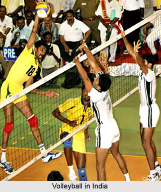 Volleyball in India