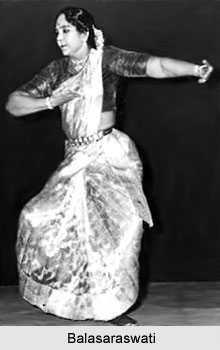 Balasaraswati, Indian Bharatanatyam Dancer
