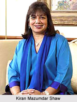 Kiran Mazumdar Shaw, Indian Business Woman
