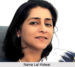 Naina Lal Kidwai, Indian Business Woman