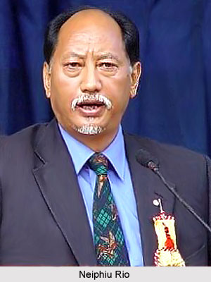Neiphiu Rio, Chief minister of Nagaland