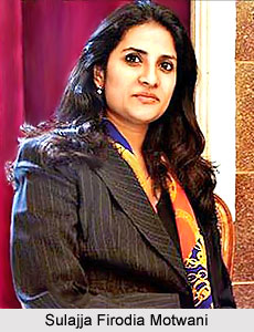 Sulajja Firodia Motwani, Indian Business Woman