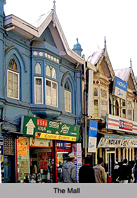 The Mall - Colonial Architecture of Shimla