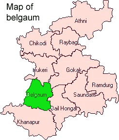 Map of Belgaum