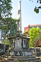Black Hole of  Calcutta Monument