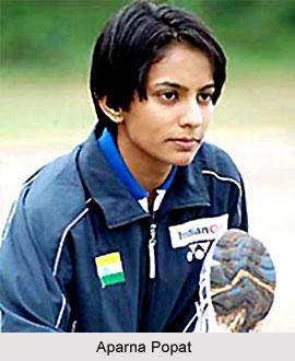 Indian Badminton Player - Aparna Popat