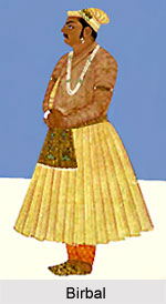 Birbal , Minister in Akbar's Court