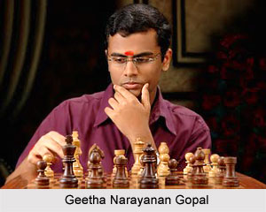 Geetha Narayanan Gopal, Indian Chess Player