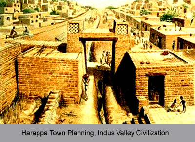 Harappa Town Planning, Indus Valley Civilization