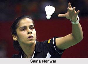 Indian Badminton Player - Saina Nehwal