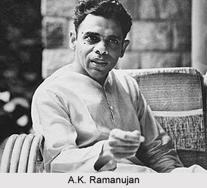 A.K. Ramanujan, Indian Writer