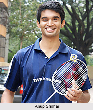 Anup Sridhar, Indian Badminton Player Badminton Player Name