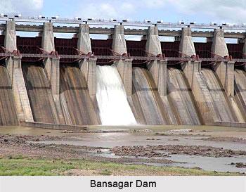 Bansagar Dam, Madhya Pradesh