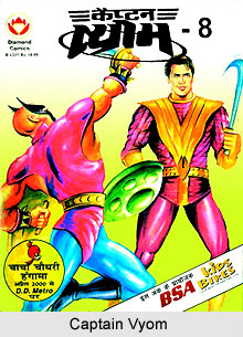 Captain Vyom, Indian Comics