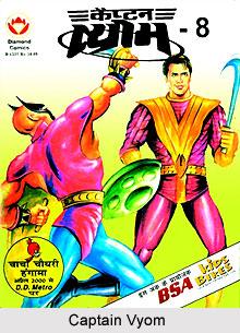 Captain Vyom, Indian Comics