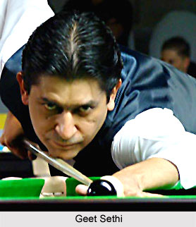 Geet Sethi, Indian Billiard Player