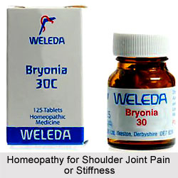 Homeopathy for Shoulder Joint Pain or Stiffness
