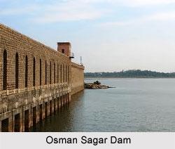 Osman Sagar Dam, Andhra Pradesh