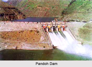 Pandoh Dam, Himachal Pradesh