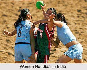 Women Handball in India