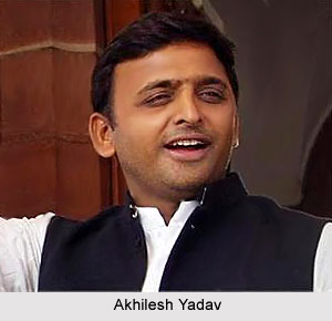 Akhilesh Yadav, Chief Minister of Uttar Pradesh