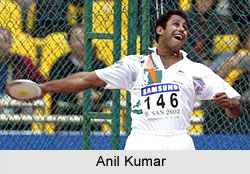 Anil Kumar, Indian Discus Thrower
