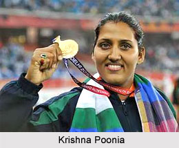 Krishna Poonia, Indian Woman Discus Thrower