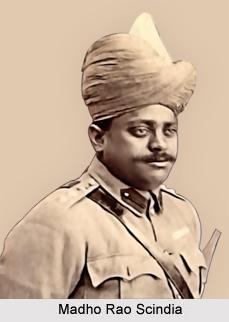 Madho Rao Scindia, Maharaja of Gwalior