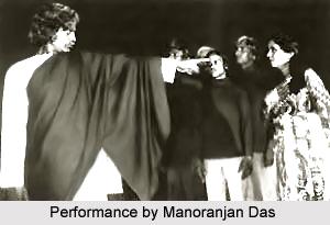 Manoranjan Das, Oriya Theatre Personality