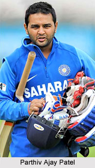 Parthiv Ajay Patel, Gujarat Cricket Player